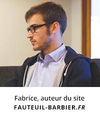 fabrice auteur du site fauteuil-barbier