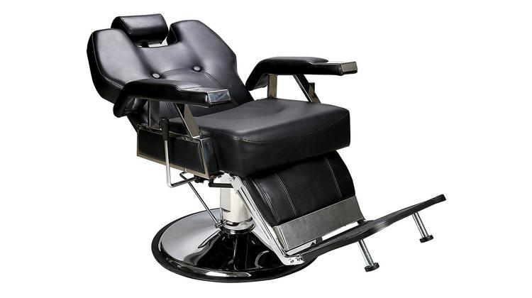 Inclinaison du fauteuil de barbier BarberPub 2801BK : avis détaillé